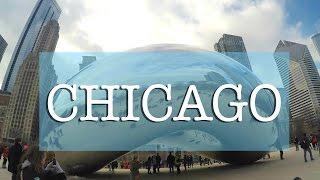 Winter in Chicago, Illinois
