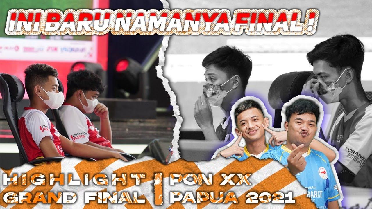 MATCH ALOT PLAYER MAENNYA NGOTOT !   MATCH HIGHLIGHT GRAND FINAL PON PAPUA   Jawa Barat vs Kalsel