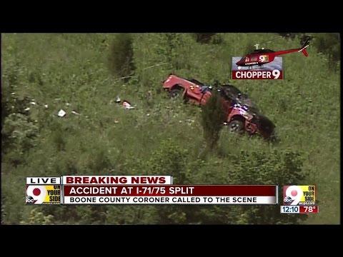 Fatal crash closes Interstate 71 in Boone County