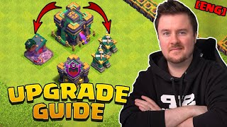 Town Hall 14 Upgrade Guide | Town Hall 14 Farm Base + Link | #clashofclans