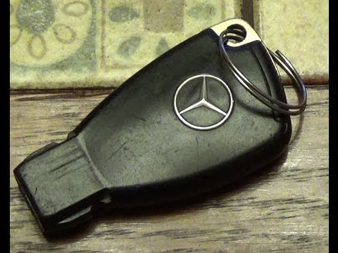 Как поменять батарейку в ключе мерседес w211