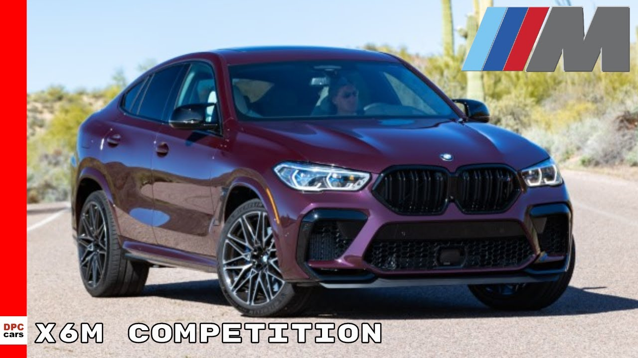 New 2020 Bmw X6m Competition Youtube