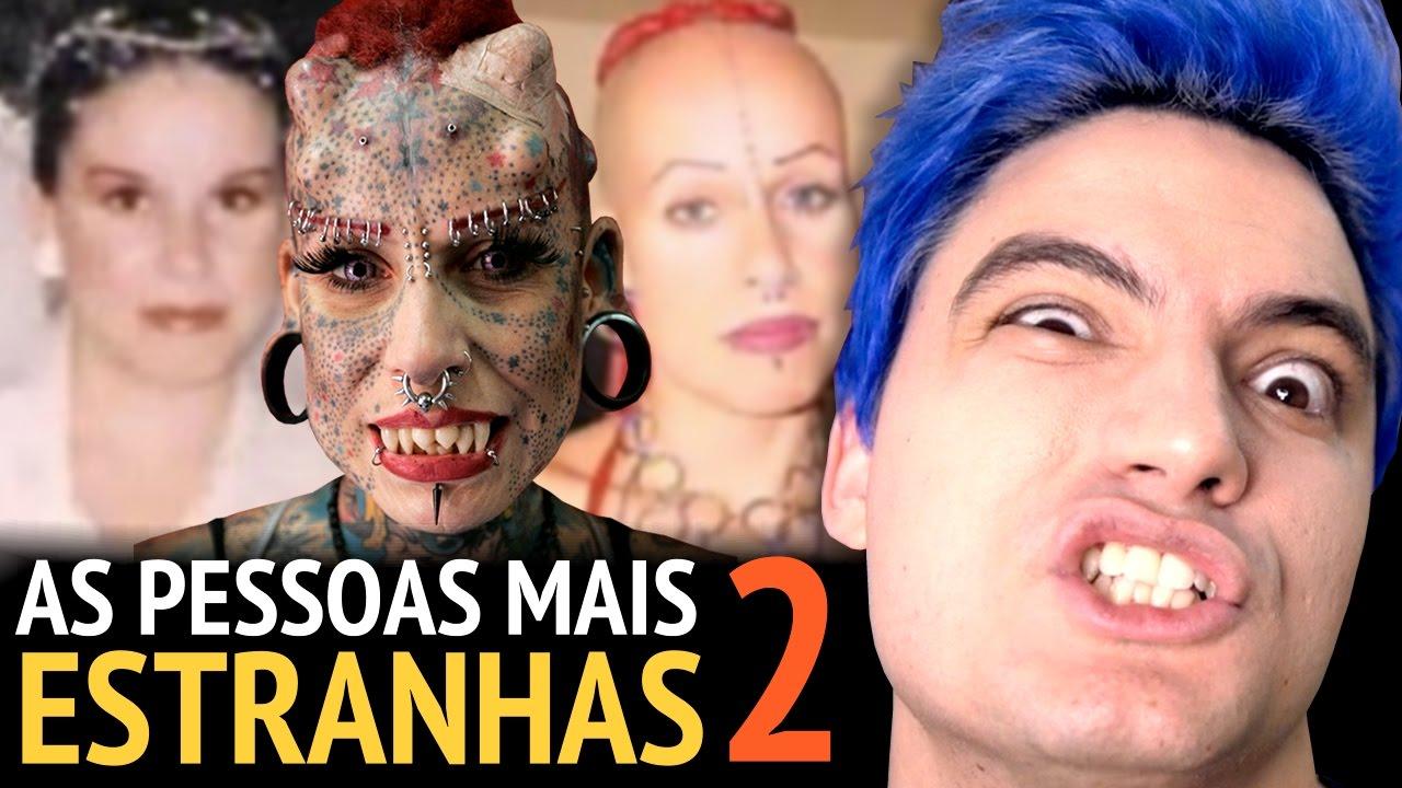 AS PESSOAS MAIS ESTRANHAS DO MUNDO 2 [+13]