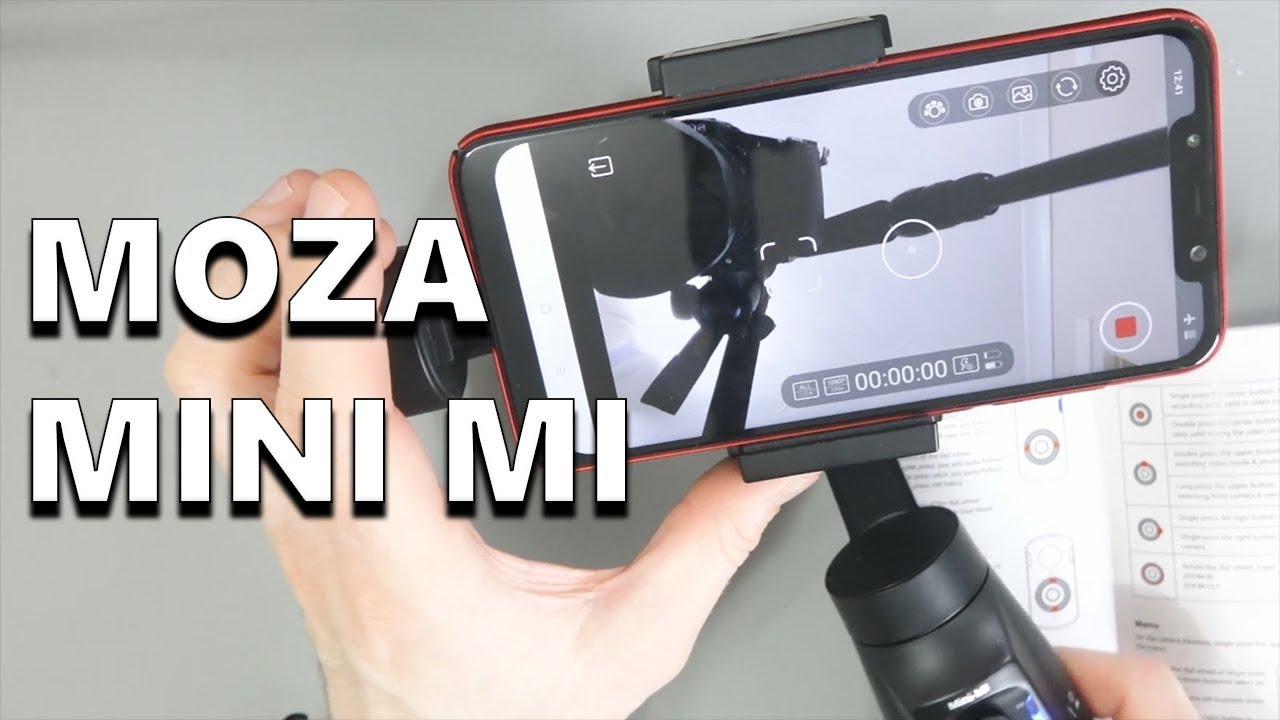 A Look at the Moza Mini Mi Gimbal Camera App - YouTube 75a4fdba62