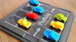 Машинки игрушки Паркинг Головоломка Видео для детей Распаковка игры