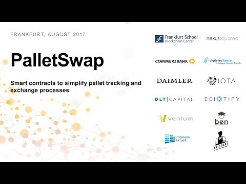 PalletSwap - Smart contracts to simplify pallet tracking and exchange processes