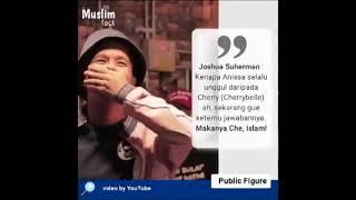 PENGHINAAN ARTIS JOSHUA SUHERMAN PADA AGAMA ISLAM DALAM SALAH SATU ACARA