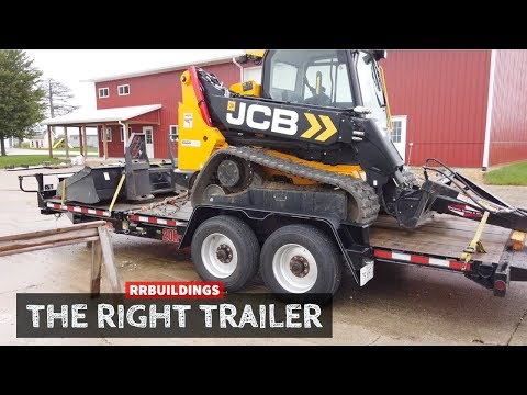 The Right Trailer To Haul Heavy Machinery