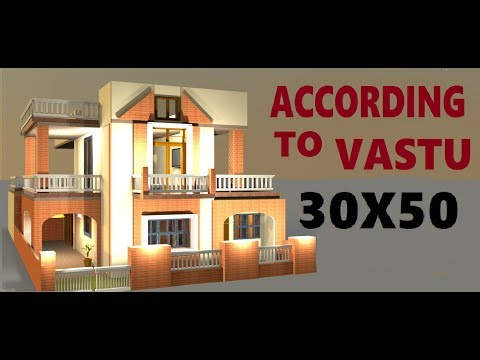 30X50 according to vastu house design by priya soni on build your dream house