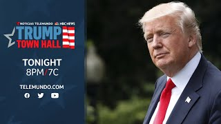 WATCH LIVE: Town Hall with Donald Trump
