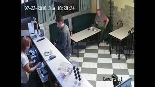 Red CAM.Пранк с камерой в Кафе.Реклама секс шопа.Тюмень
