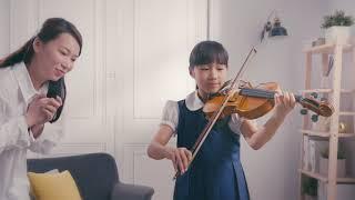 2021 靚星演員作品:琴弦四季豆 快樂學琴篇【女兒 小挺】