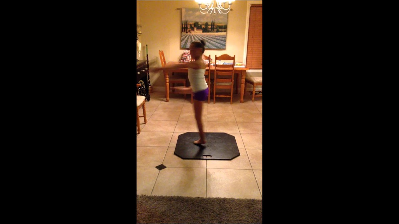 Portable Ballet Floor : Each quot portable dance turning board made w