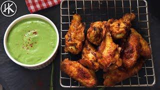 Keto Saag Chicken Wings  Keto Recipes  Headbanger&#39s Kitchen