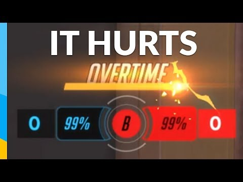 That HURTS! 99 vs 99 | Overwatch: Competitive