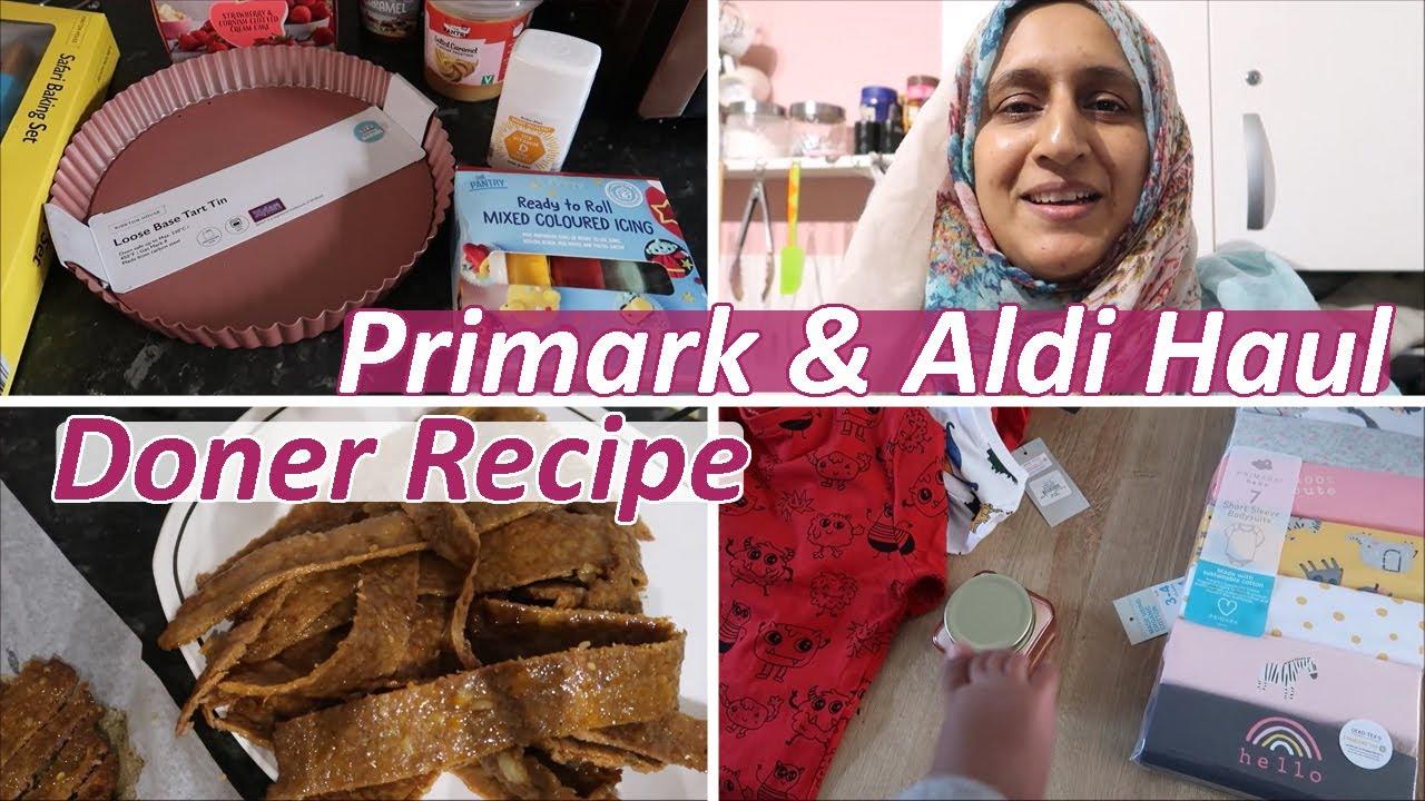 Download Mini Primark & Aldi Haul, and Quick Doner Recipe | Vlog | Shamsa