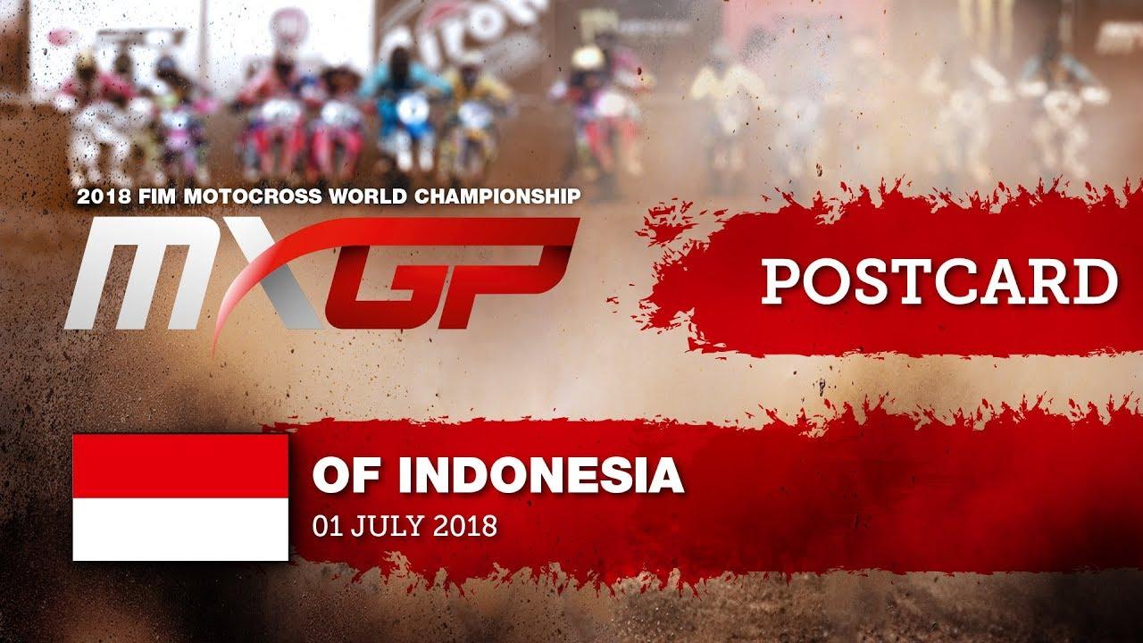Postcard - MXGP of Indonesia 2018