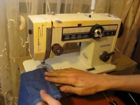 Sewing Machine Швейная машина Veritas Веритас 8014/43 Test