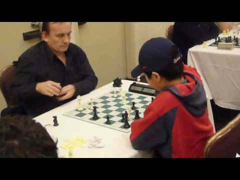 Kevin played blitz chess against an IM in North Am...