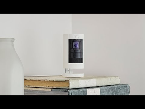 The All-New Ring Stick Up Cam: Smart Security Inside Or Out