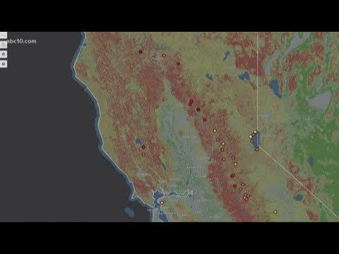 Nonprofit creates map showing communities most vulnerable to potential wildfires