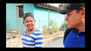 Beatríz nos lleva a ver su caimán   San Miguel El Salvador