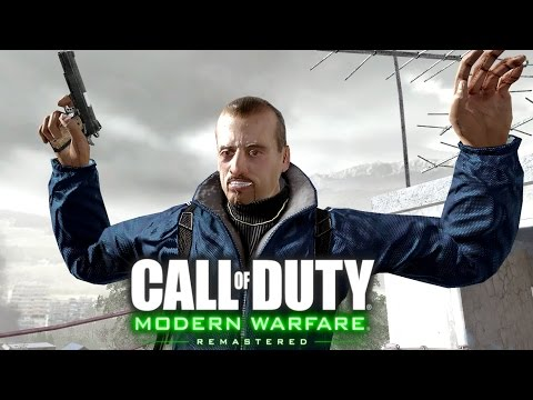 Call of Duty 4 Modern Warfare Remastered: The Sins of the Father Mission Gameplay Veteran