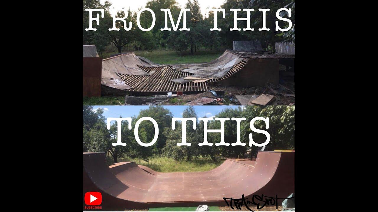 Trainspot - A gyömrői kerti mini újjáépítésének története
