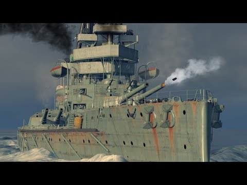 A Steaming Pile of Ship