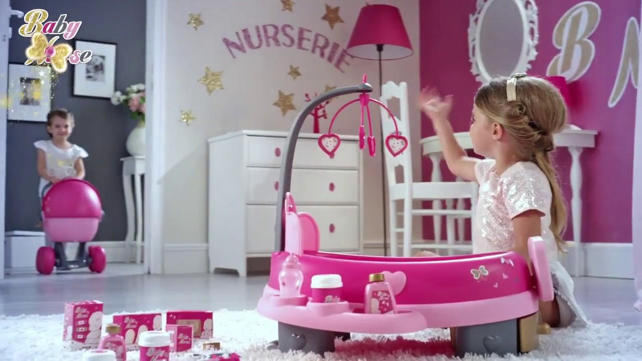 Набор Smoby Baby Nurse по уходу с куклой и планшетом 22 акс.