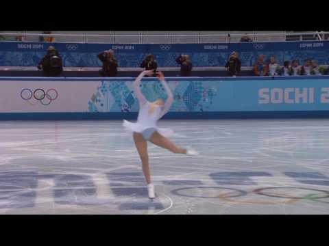 Carolina Kostner 2014 0lympics SP Schubert Ave Maria