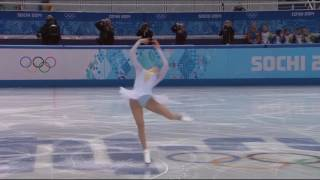 Carolina Kostner 2014 0lympics SP Schubert Ave Maria