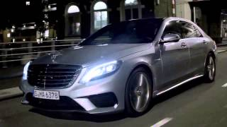 S 63 AMG on the streets of Rotterdam