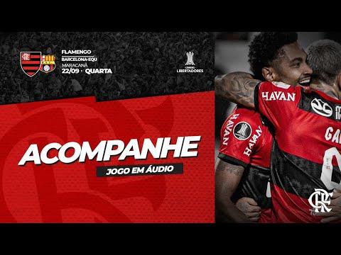 Flamengo x Barcelona de Guayaquil AO VIVO | Conmebol Libertadores