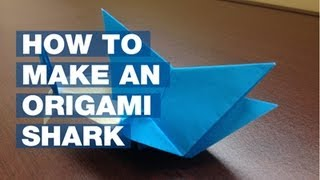 How To Make An Origami Shark (nsu Edition)