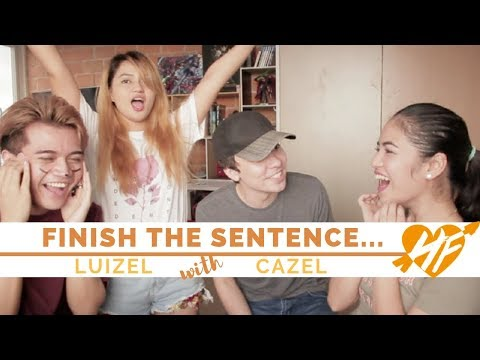 Finish The Sentence || Hazel Faith vs. Luigi (Feat. Caleb and Rozel)