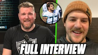 Pat McAfee & Taylor Lewan Talk The Titans Ravens Feud, Concussion Protocol, And More