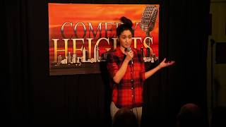 Jessica Rosas at Comedy Heights in San Diego, CA