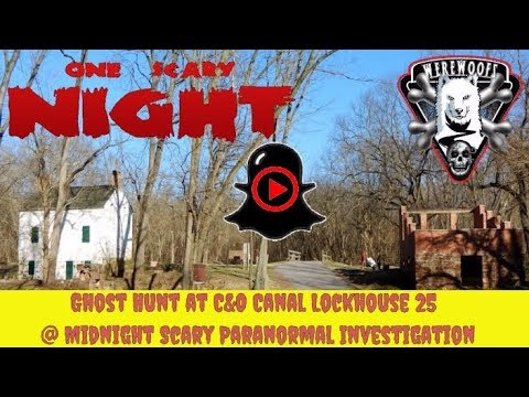 Ghost Hunt at Lockhouse 25 Scary Paranormal Investigation - Part 5