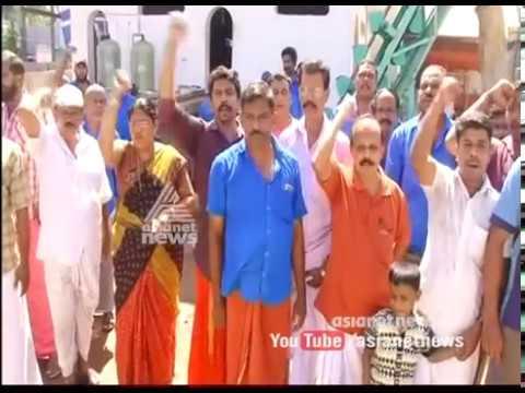 CPIM protest against encroachment in Munambam mini Harbour