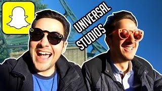 Test des Lunettes Snapchat à Universal Studios Hollywood !