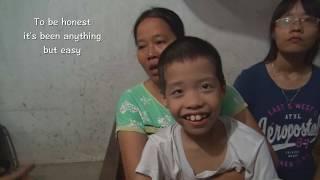We help a widow with $433 USD. Vietnam.