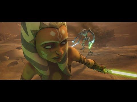 Star Wars: The Clone Wars - Ahsoka Tano vs General Grievous [1080p]