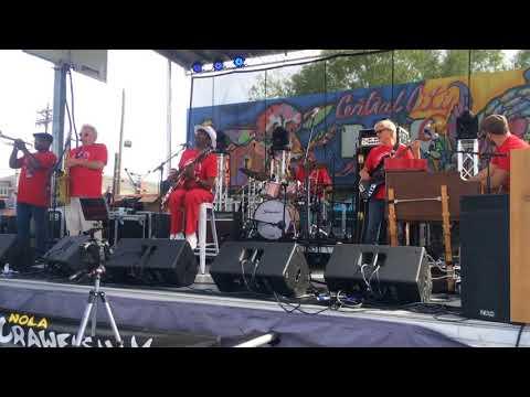 Walter Wolfman Washington & the Roadmasters - NOLA Crawfish Fest 04-30-2019
