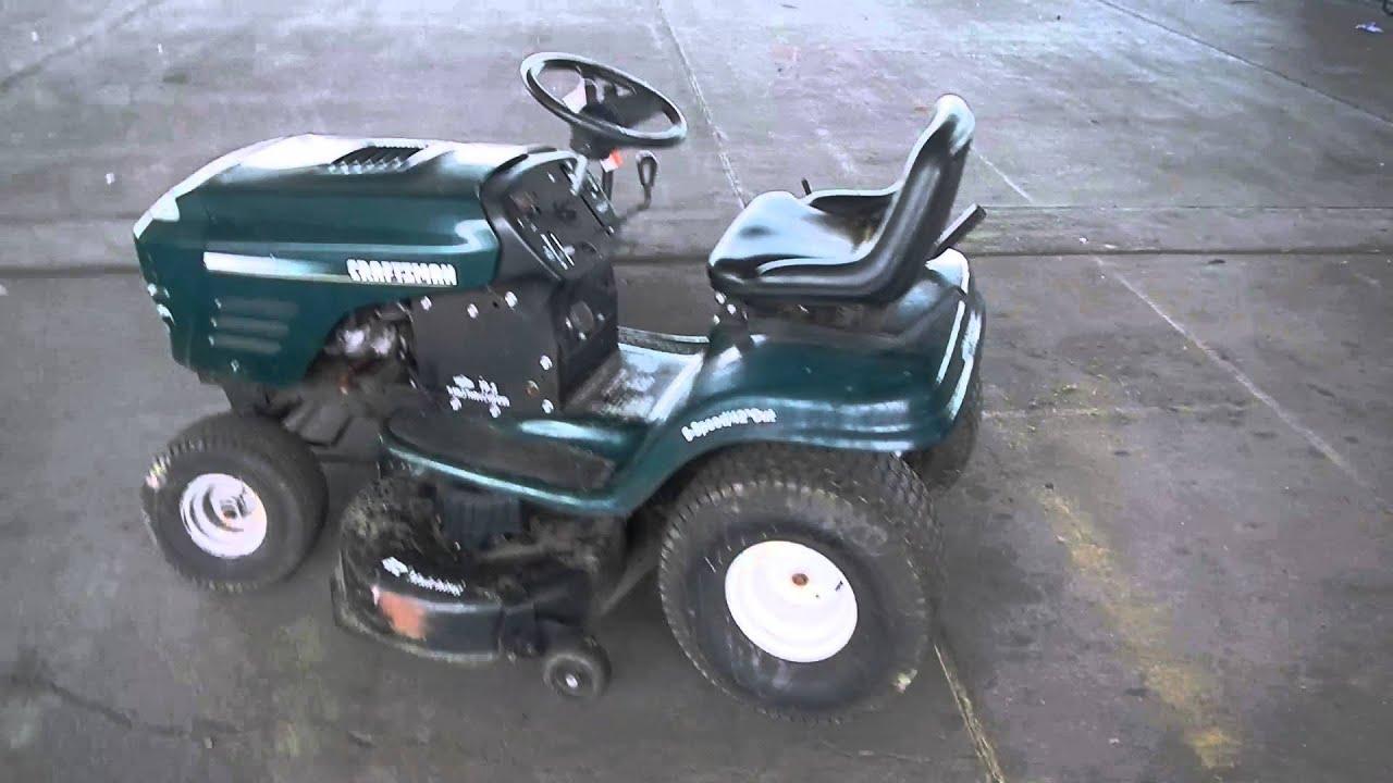 Craftsman 19 5 Turbo Lawn Mower Youtube