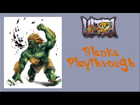 Ultra Street Fighter IV - Blanka Arcade Mode Playthrough