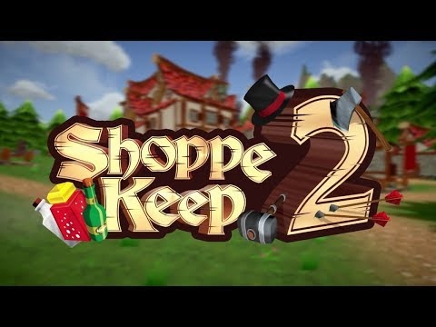 Shoppe Keep 2 Gameplay #2 - Unlocking the Cook! Let's Sell Food!