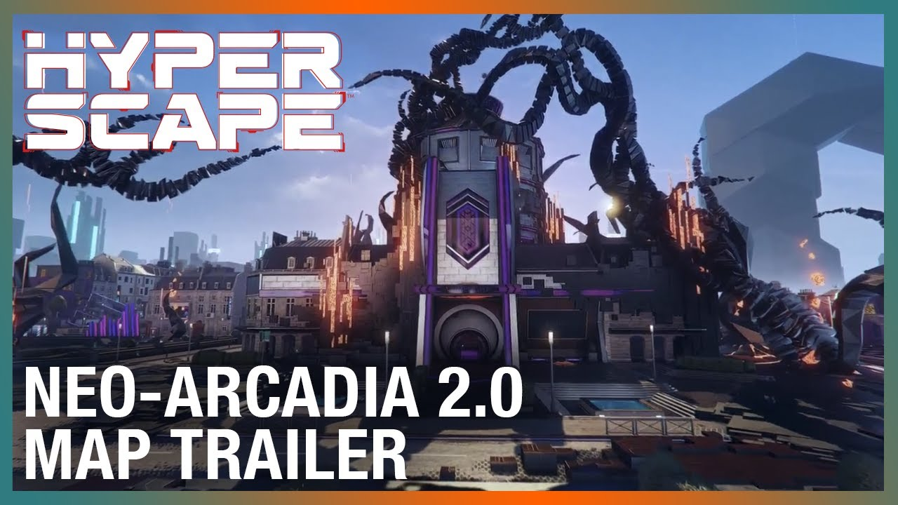 Hyper Scape: Neo-Arcadia 2.0 | Revamped Map Trailer | Ubisoft