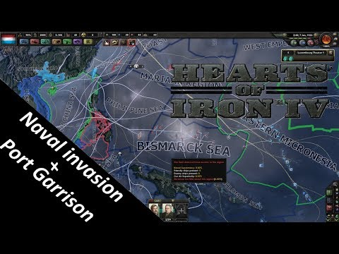 Hearts of Iron 4: Naval invasion and port garrison guide