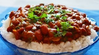 Indian Kidney Bean Curry Rajma Chawal Recipe